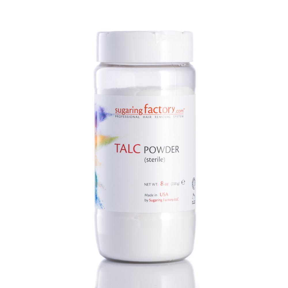 TALC POWDER (sterile, asbestos free, PRE-TREAT) - 8 oz - SAVE 30%!