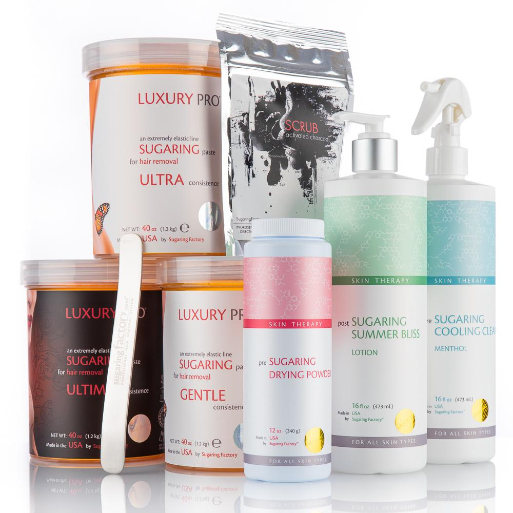 LUXURY PRO PREMIUM Set - Boost your BIZ! (8 pcs)