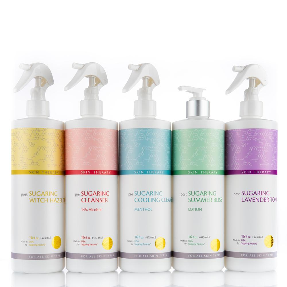 Back BAR SKIN THERAPY set of FIVE