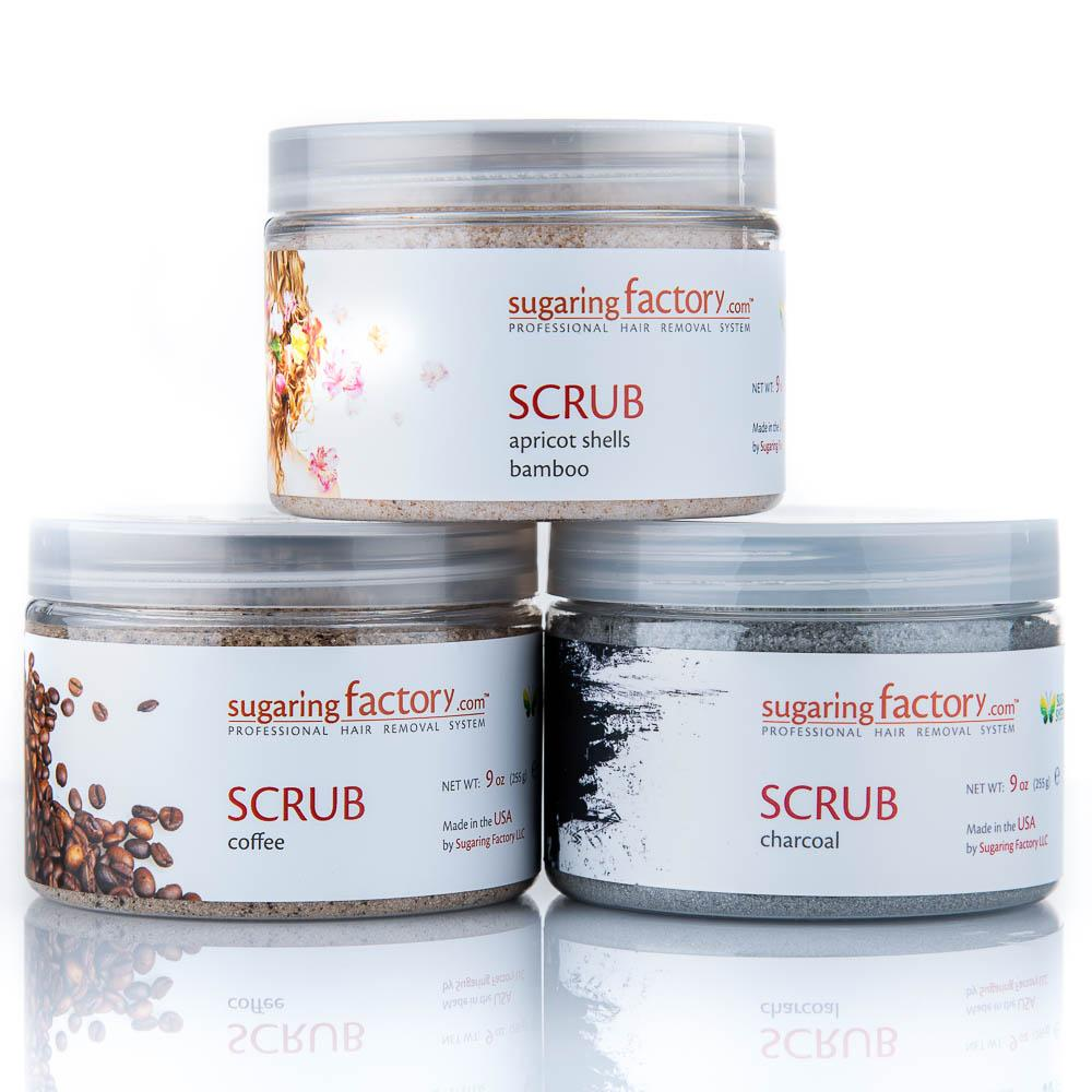 SET of THREE SCRUBs - SAVE 30%